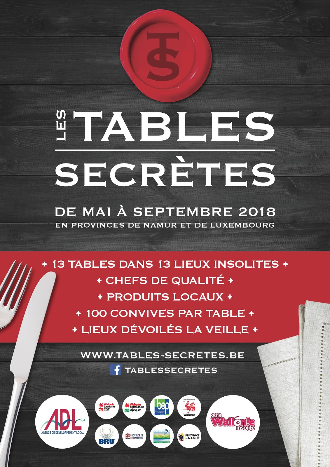 Tables Secrètes 2018