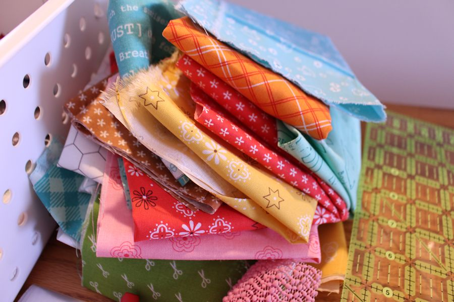Read about Bee Happy Quilt Preparation