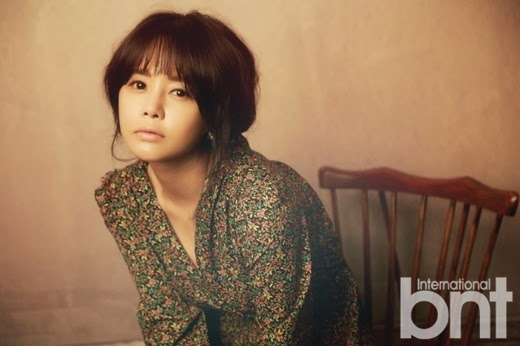 Lee Young Ah - bnt International May 2014