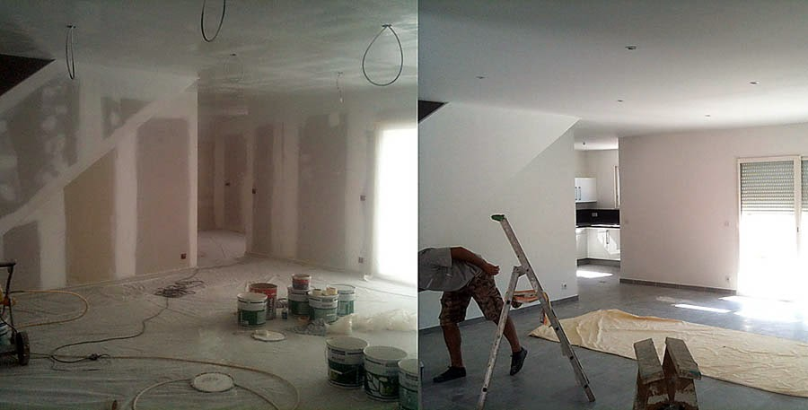 G n rale du b timent - Retouche peinture plafond ...