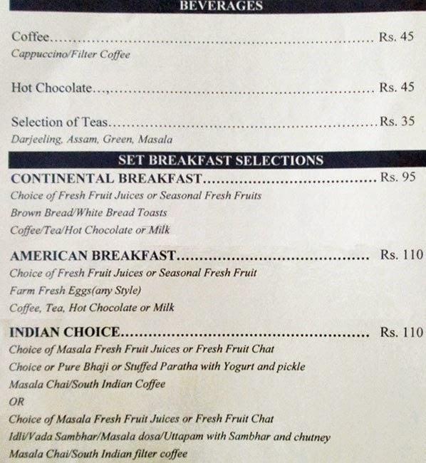 Veg Restaurants in Hyderabad Hotel Sadhvika Menu 2