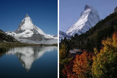 The Matterhorn Mountain German Tourism