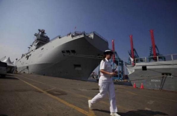 Kapal tentera Turki 'bising' laut Jakarta penuh sampah