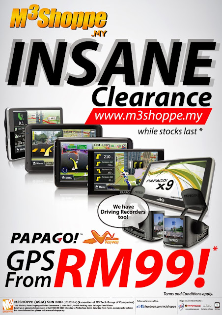 M3Shoppe Insane Clearance Sale