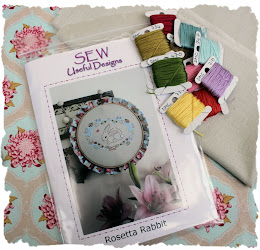 Rosetta Rabbit sewing kit