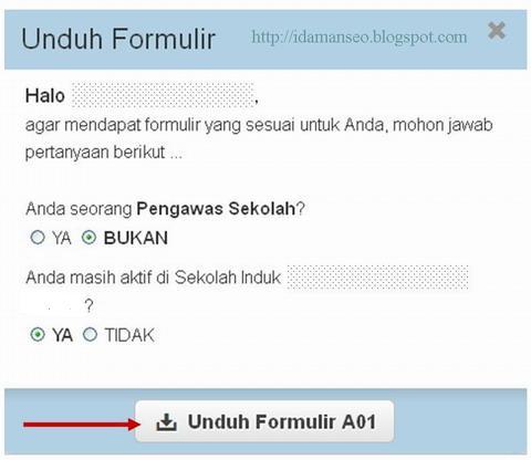 Pencarian NUPTK dan Formulir PTK di Situs PADAMU NEGERI untuk Pemutakhiran Data 2013