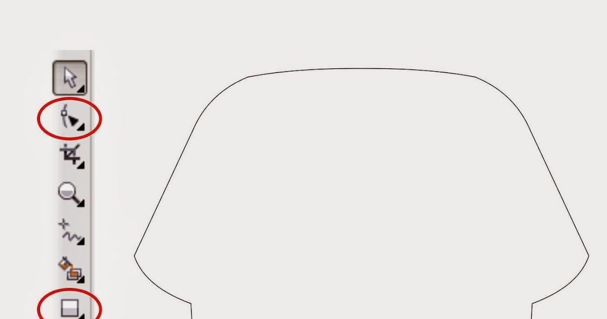 Tutorial Video Cara Mudah Desain Kaos Dengan Coreldraw Dan | newhairstylesformen2014.com