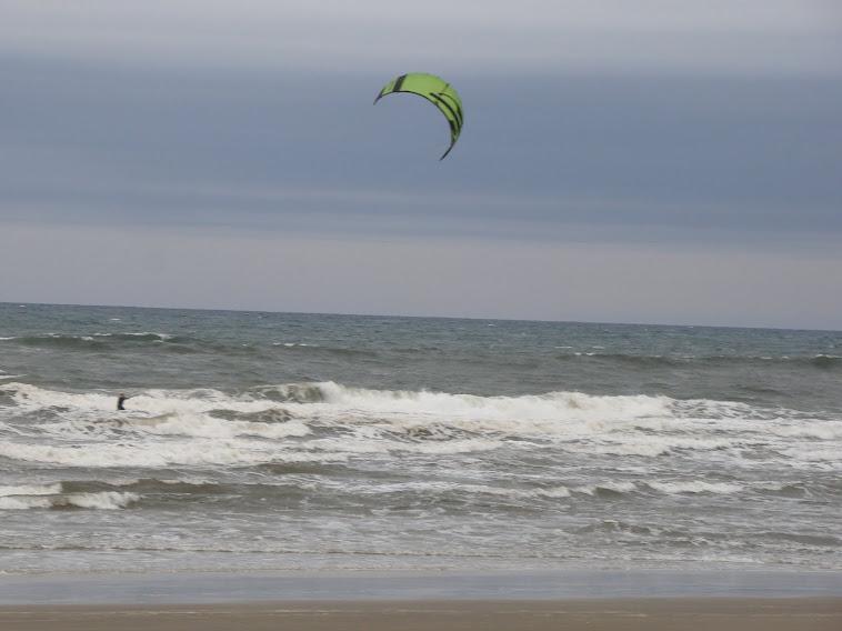 Kitesurf na praia do campo Bom - Jaguaruna