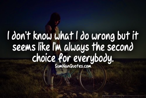 Second Choice – Best Quotes Collection
