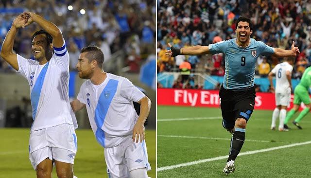 Uruguay vs Guatemala en vivo
