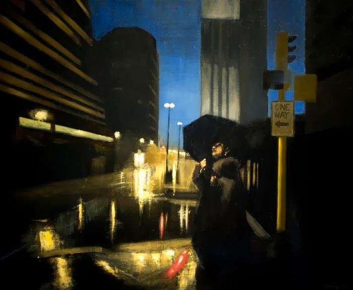 Картины в стиле тонализм. David John Cunningham