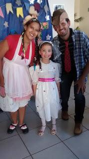 Araiá da Escola IES - Zé e Maria e a Noiva Gigi
