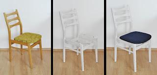 metamorfoza krzeseł
