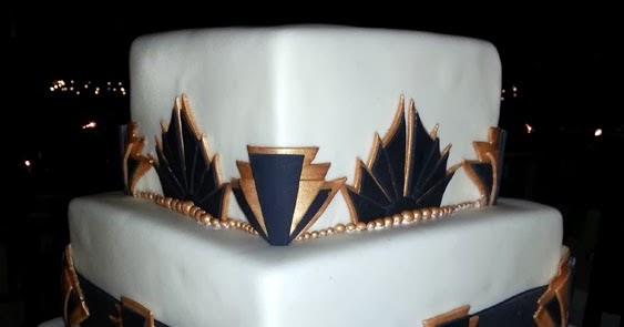 A Heavenly Ceremony Blog: Art Deco Wedding Cake - As Tasty ...