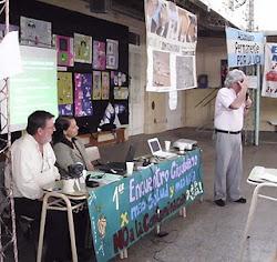 San Lorenzo: con el Dr Oliva y Dr Paramo