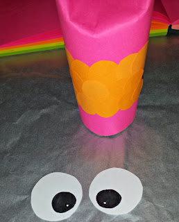 pink owl toilet paper roll craft