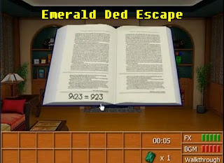 Emerald Den Escape walkthrough.