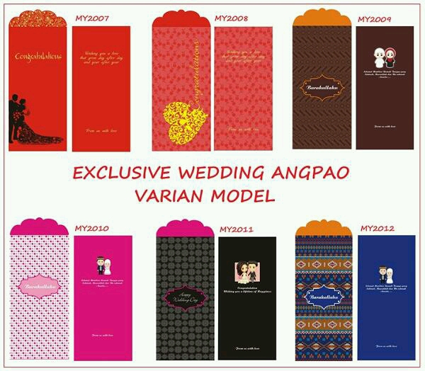 AMPLOP WEDDING EXKLUSIVE