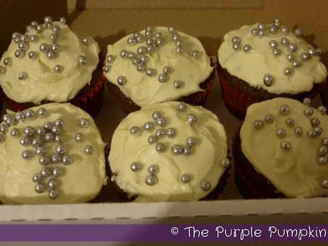 Spiced Christmas Fruit Cupcakes | The Purple Pumpkin Blog