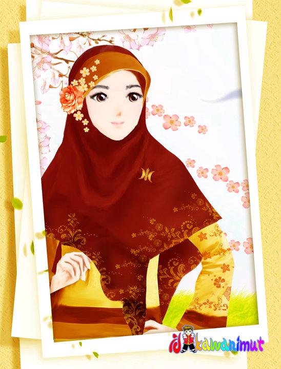 wallpaper muslimah sejati. wallpaper muslimah kartun.