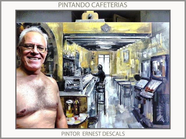 CAFETERIAS-PINTURAS-PINTANDO-CAFETERIA-PINTURA-PERSONAJES-CUADROS-ARTISTA-PINTOR-ERNEST DESCALS-