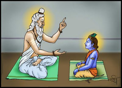 Vashishtha krishna Kanaiya gets gyan from Guru!