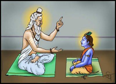Kanaiya gets gyan from Guru! Vashishtha krishna