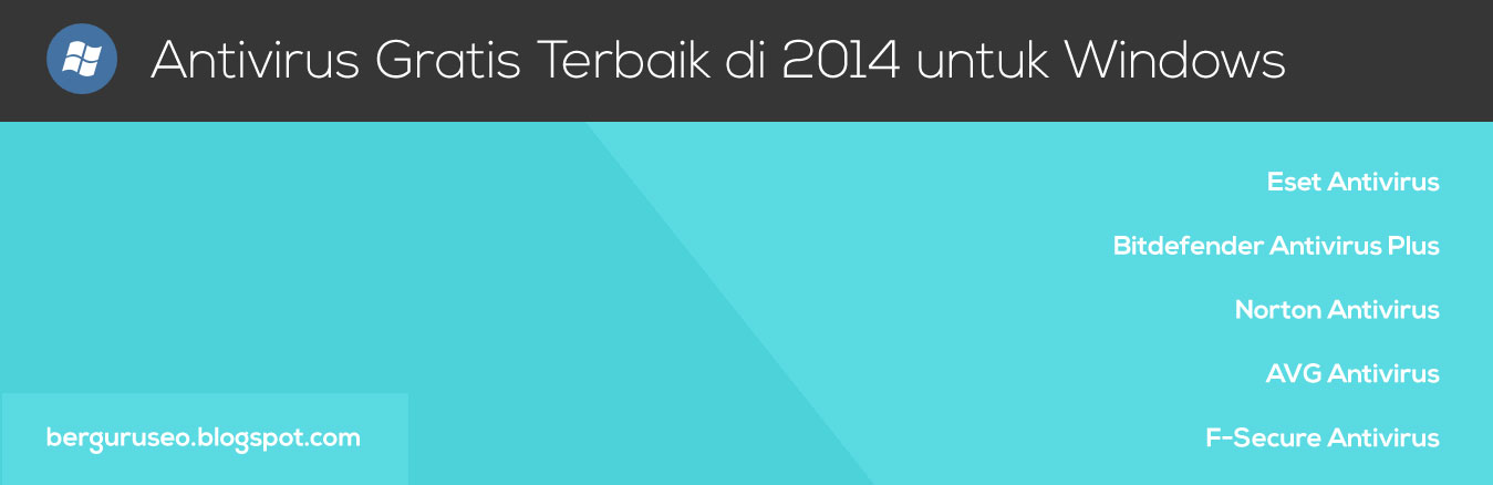 Antivirus Gratis Terbaik di 2014 untuk Windows