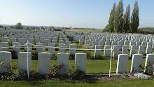 WW1 graves Belgium