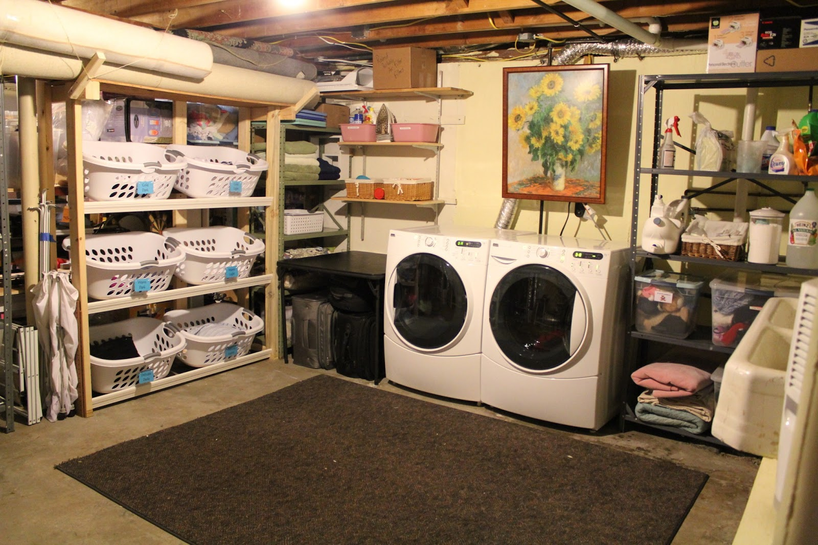Small Space Tips For Organizing Cleaning And Daily Life Laundry Room Redo
