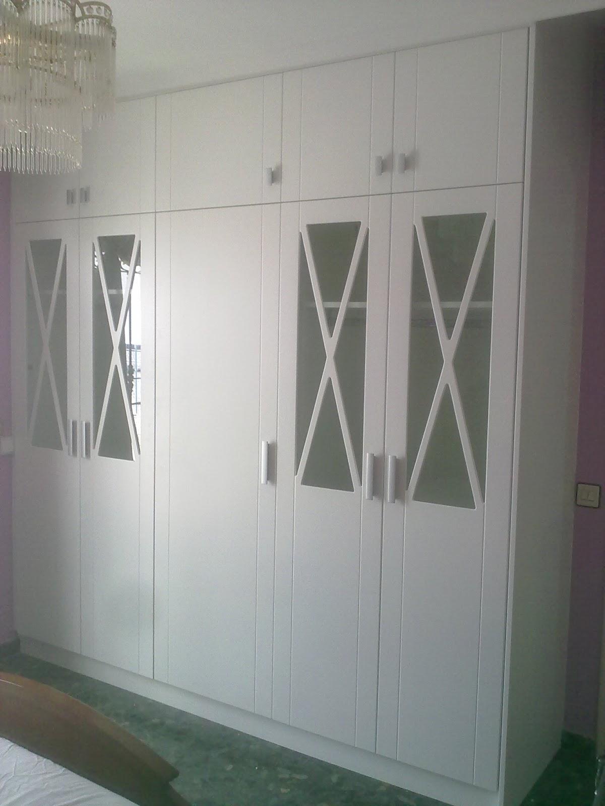 Carpinteria los molinos fotos de trabajos de dormitorios - Armarios de cristal ...