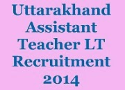 Uttarakhand LT Recruitment image