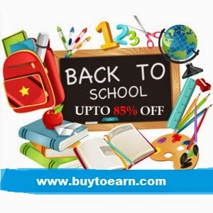 BuyStationery upto 80% + 2% off + 2% Cashback  : Buy To Earn