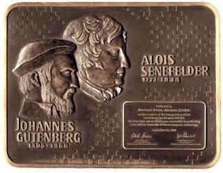 Gutenberg e Senefelder