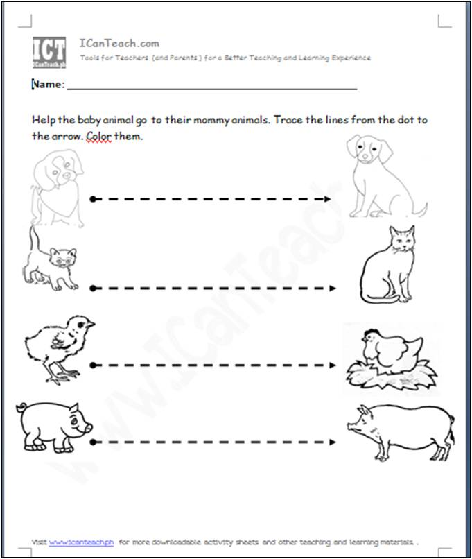 activity sheet preschool writing readiness lines