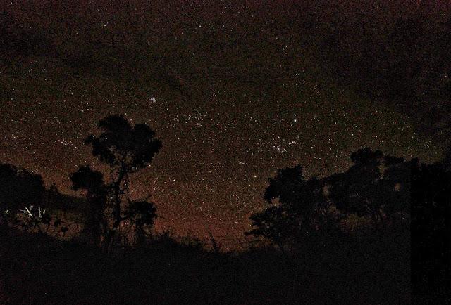Night sky ruaha mdonya tanzania