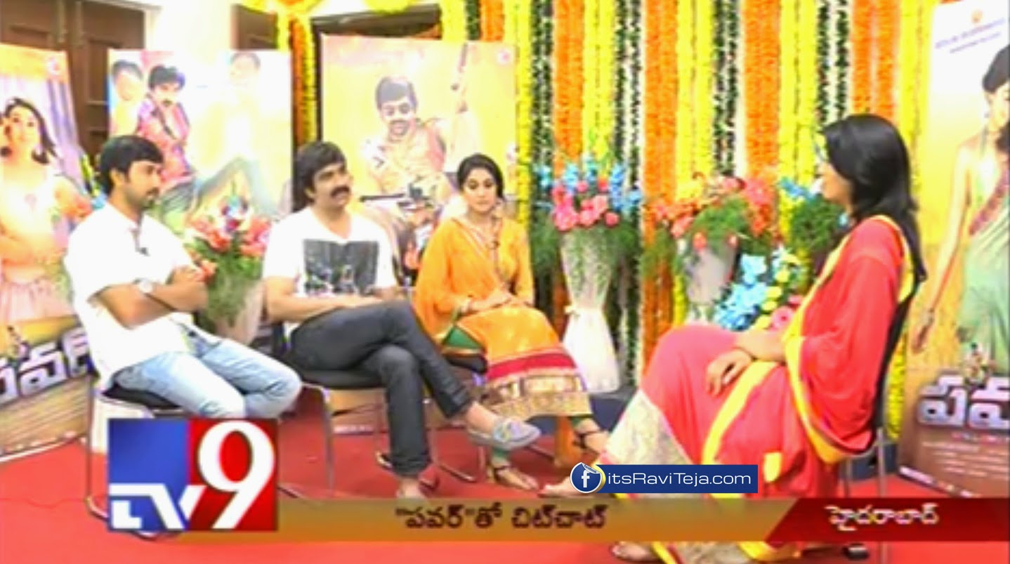 In conversation with Ravi Teja's 'Power' team - Tv9