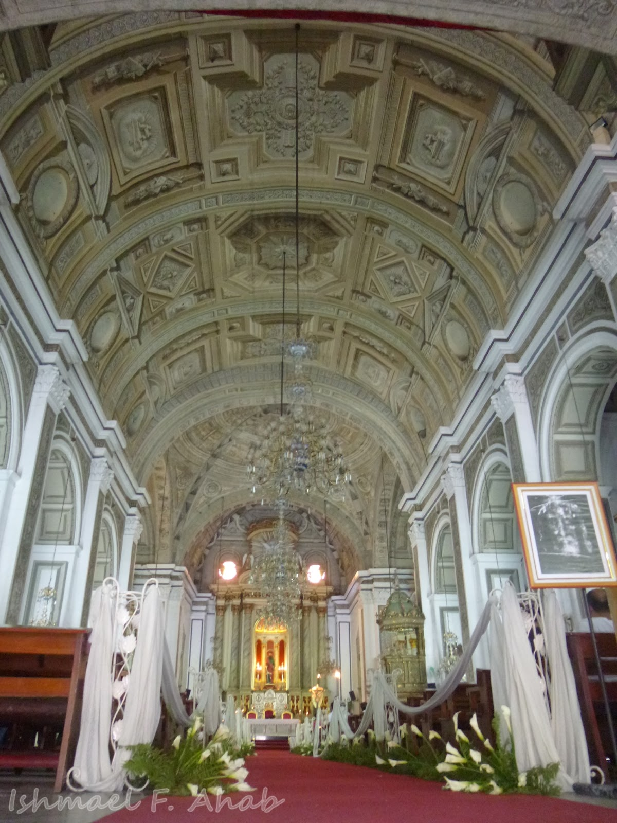 Interior Of San Agustin Church Intramuros Manila
