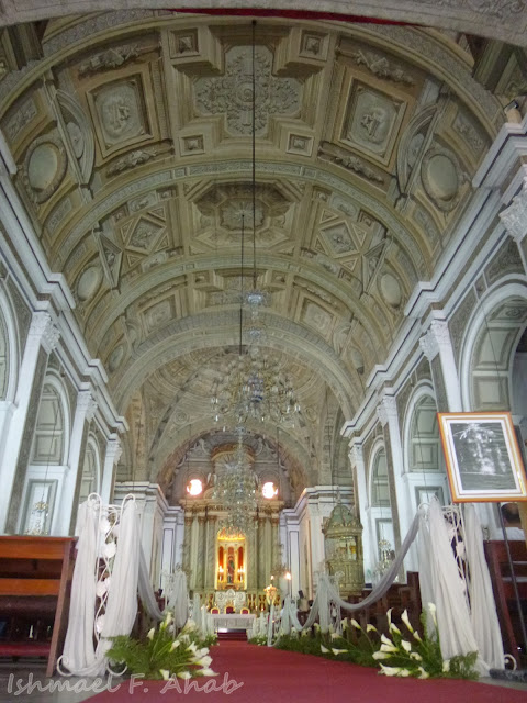 Interior of San Agustin Church, Intramuros, Manila