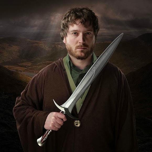 The Hobbit Sting FX Sword
