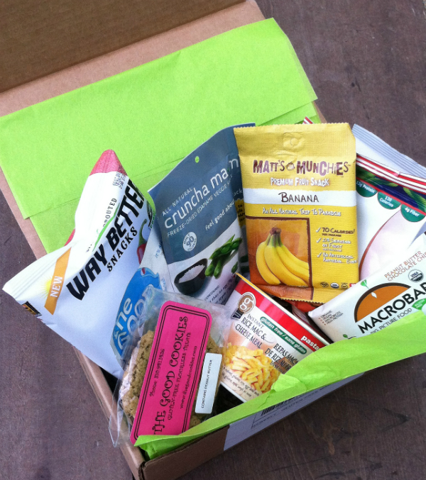 GFreely - Gluten Free Monthly Subscription Box Review -  August 2012