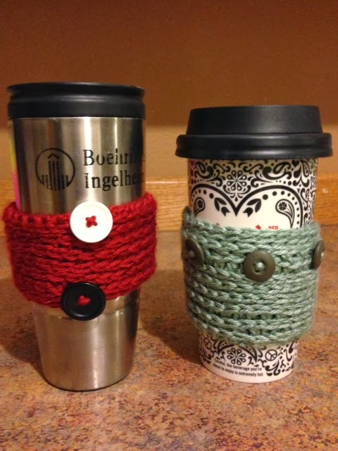 Vet School Widow: Crochet Coffee Sleeves