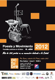 """Cartel """"IV Festival Poesía y Movimiento"""""""