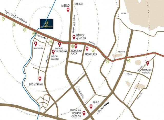 Bản đồ goldmark city