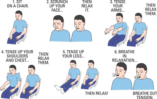 Reduce Stress and Belly Fat with Progressive Muscle Relaxation   IREUMMIE