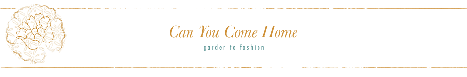:: Can You Come Home :: Floral + Garden Inspired Living