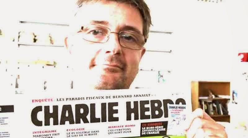 pemimpin redaksi majalah Charlie Hebdo