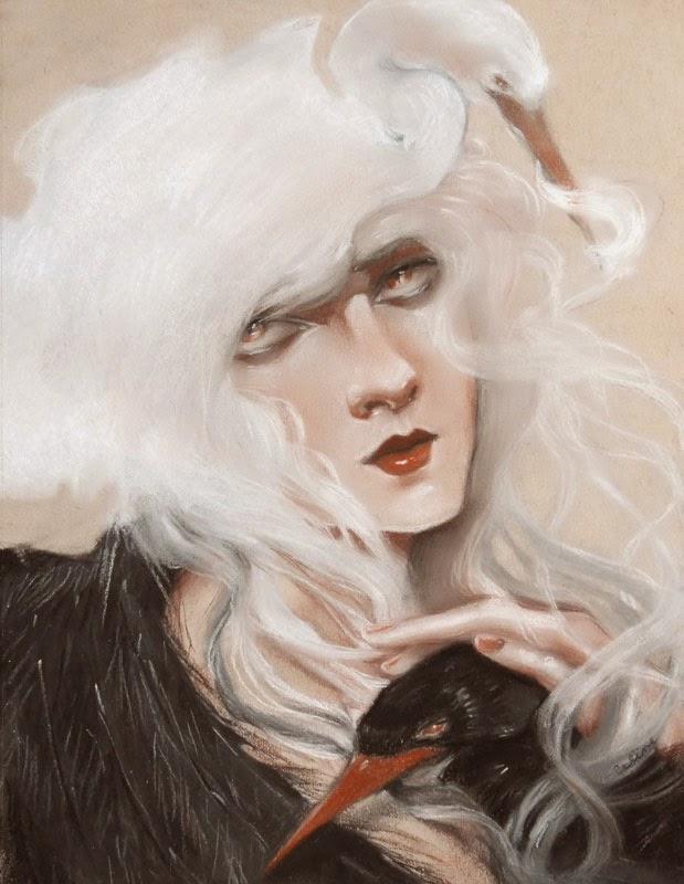 """Swans"" by Celene Petrulak"