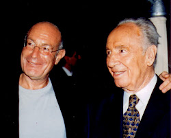 Arnon Milchan and Shimon Peres