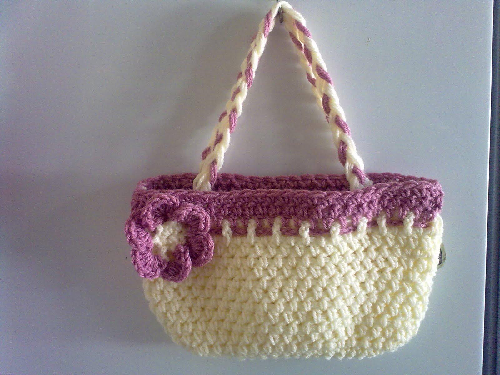 small town lulu: Crochet little girls bag.....